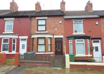Thumbnail 2 bed terraced house to rent in Elmswood Road, Tranmere, Birkenhead