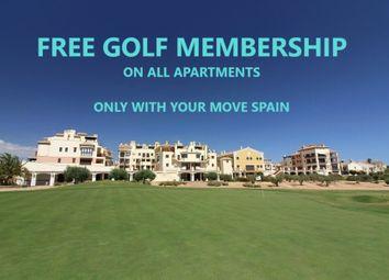 Thumbnail 3 bed apartment for sale in Hacienda Del Alamo Golf Resort, Murcia, Spain