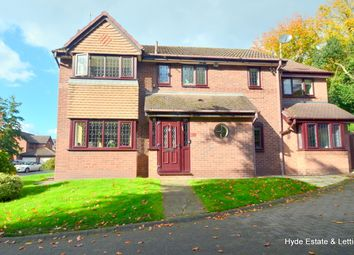 Thumbnail 5 bed detached house for sale in Tuscany View, Salford