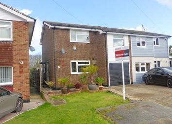 Thumbnail 3 bed semi-detached house for sale in Thundersley, Essex, .