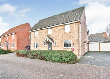Thumbnail 4 bed detached house for sale in Raven Croft, Cringleford, Norwich