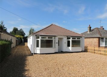 Thumbnail 4 bed detached bungalow for sale in Council Houses, High Road, Wisbech St. Mary, Wisbech