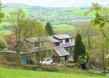 Thumbnail 5 bed detached house for sale in Hague Fold, Hague Bar, New Mills
