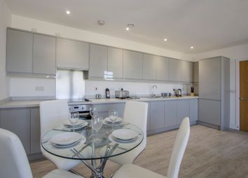 Thumbnail 1 bed flat for sale in Plot 19, Chapel Riverside, Southampton