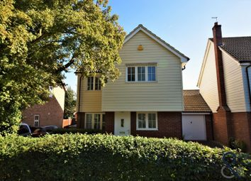 Thumbnail 3 bed detached house for sale in Stevens Lane, Bannister Green, Felsted