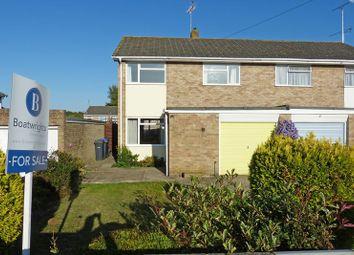 Thumbnail 3 bed semi-detached house for sale in Glendale Road, Durrington, Salisbury