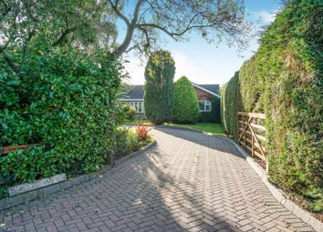 Thumbnail 4 bed detached bungalow for sale in Lightwood Green Avenue, Near Audlem, Cheshire