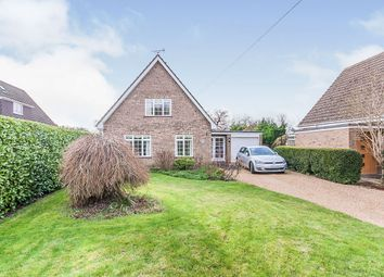 Thumbnail 3 bed property for sale in St Marys Close, Woodnewton, Peterborough
