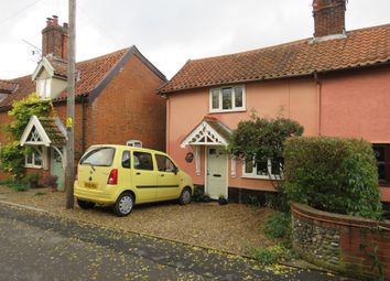 Thumbnail 2 bed property for sale in Low Street, Wicklewood, Wymondham
