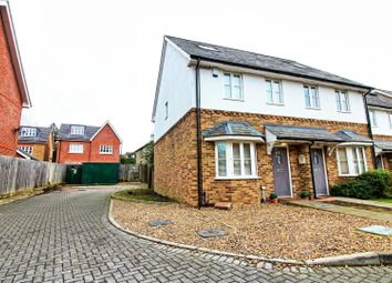 Thumbnail 3 bed semi-detached house for sale in Station Yard, Buntingford