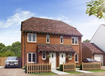 "Thumbnail 2 bed semi-detached house for sale in ""The Alnwick"" at Station Road, Northiam, Rye"