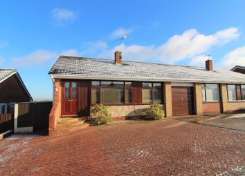Thumbnail 2 bedroom semi-detached bungalow for sale in Ffordd Cynan, Wrexham