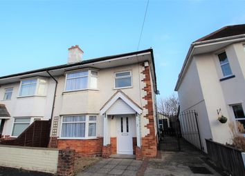 Thumbnail 3 bed semi-detached house to rent in Mabey Avenue, Bournemouth