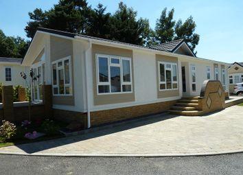 Thumbnail 2 bed mobile/park home for sale in Oakwood Court, Hogmoor Road, Whitehill, Bordon