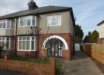 Thumbnail 4 bedroom semi-detached house for sale in Strathmore Avenue, Hull