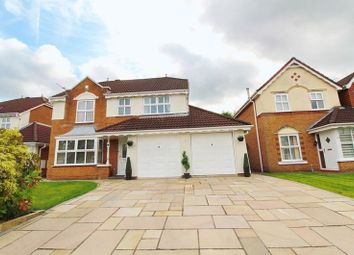 Thumbnail 4 bed detached house for sale in Reedley Drive, Walkden, Manchester