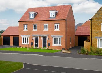 Thumbnail 3 bed semi-detached house for sale in Adderbury Fields, Adderbury