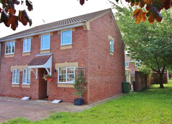Thumbnail 2 bed semi-detached house for sale in Wharton Drive, North Walsham