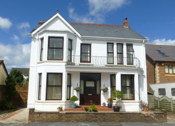 Thumbnail 4 bed detached house for sale in Penygarn Road, Tycroes, Ammanford, Carmarthenshire.