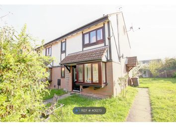 Thumbnail 1 bed end terrace house to rent in Queensbury Close, Bedford