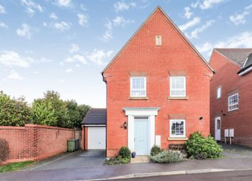 Thumbnail 4 bed detached house for sale in Beckless Avenue, Clanfield