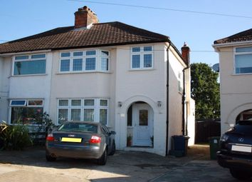 Thumbnail 3 bed semi-detached house to rent in Lawrence Crescent, Edgware, Middlesex, UK