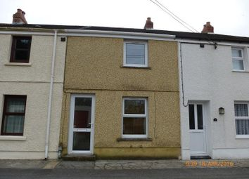 Thumbnail 2 bedroom terraced house to rent in Gwendraeth Row, Pontyberem, Llanelli, Carmarthenshire.