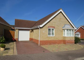 Thumbnail 2 bed detached bungalow for sale in Richard Crampton Road, Beccles