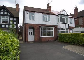 Thumbnail 3 bed town house to rent in Mansfield Road, Alfreton, Derbyshire