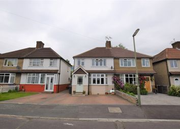 Thumbnail 4 bed semi-detached house for sale in Byron Road, Addlestone