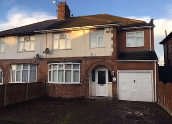Thumbnail 4 bed semi-detached house for sale in Willow Park Drive, Wigston Fields, Leicestershire