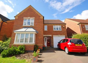 Thumbnail 4 bed detached house for sale in Franklin Way, Cherry Willingham, Lincoln