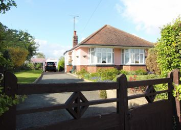 Thumbnail 2 bedroom detached bungalow for sale in Beccles Road, Gorleston