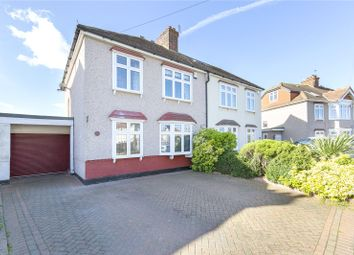 Thumbnail 4 bed semi-detached house for sale in Sunnyside Gardens, Upminster