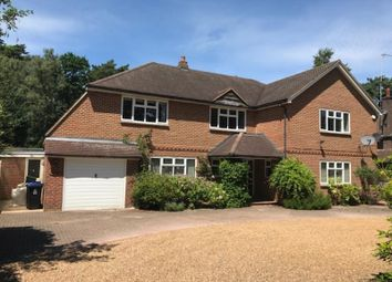 Thumbnail 5 bed detached house to rent in Pyrford Woods Road, Woking, Surrey