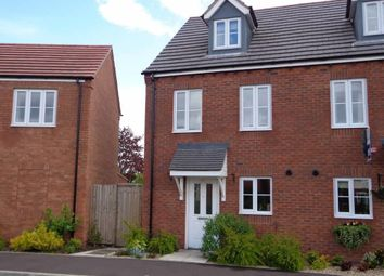 Thumbnail 3 bed end terrace house for sale in Chancel Drive, Market Drayton