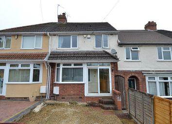 Thumbnail 3 bed terraced house for sale in Hopwood Grove, Longbridge, Birmingham