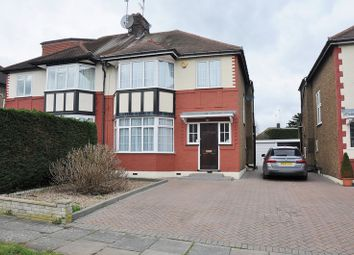 Thumbnail 3 bed semi-detached house for sale in Park View, Winchmore Hill, London