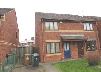 Thumbnail 2 bedroom semi-detached house for sale in Farmstead Close, Walsall