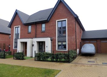 Thumbnail 3 bed semi-detached house for sale in Croxden Way, Daventry