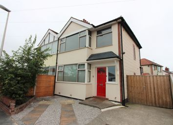 Thumbnail 3 bed semi-detached house to rent in Brentwood Avenue, Cleveleys