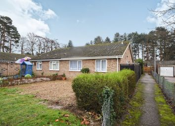Thumbnail 2 bed semi-detached bungalow for sale in Lime Close, Mildenhall, Bury St. Edmunds