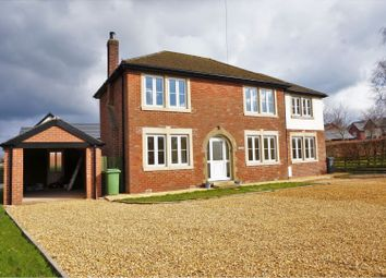 Thumbnail 4 bed detached house for sale in School Lane, Forton, Preston