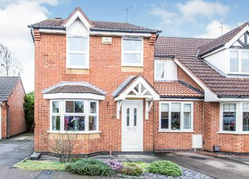 Thumbnail 3 bed semi-detached house for sale in Coales Avenue, Whetstone, Leicester