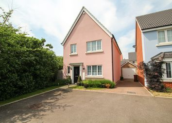 Thumbnail 4 bed detached house for sale in Osprey Drive, Stowmarket