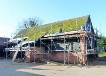 Thumbnail 4 bedroom barn conversion for sale in Church Lane, Claxton, Norfolk
