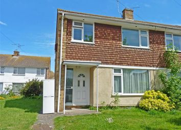 Thumbnail 3 bed semi-detached house for sale in St. Lukes Close, Westgate-On-Sea, Kent