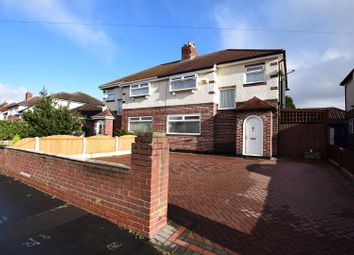 Thumbnail 3 bed semi-detached house for sale in Glenavon Road, Prenton