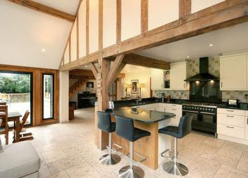 Thumbnail 5 bed detached house for sale in The Chase, Wooburn Green, High Wycombe