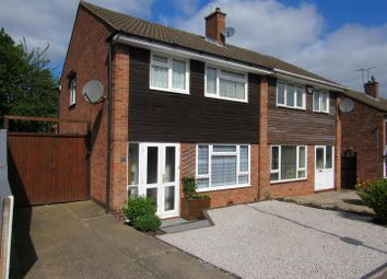 Thumbnail 3 bed semi-detached house for sale in Rushton Drive, Leicester
